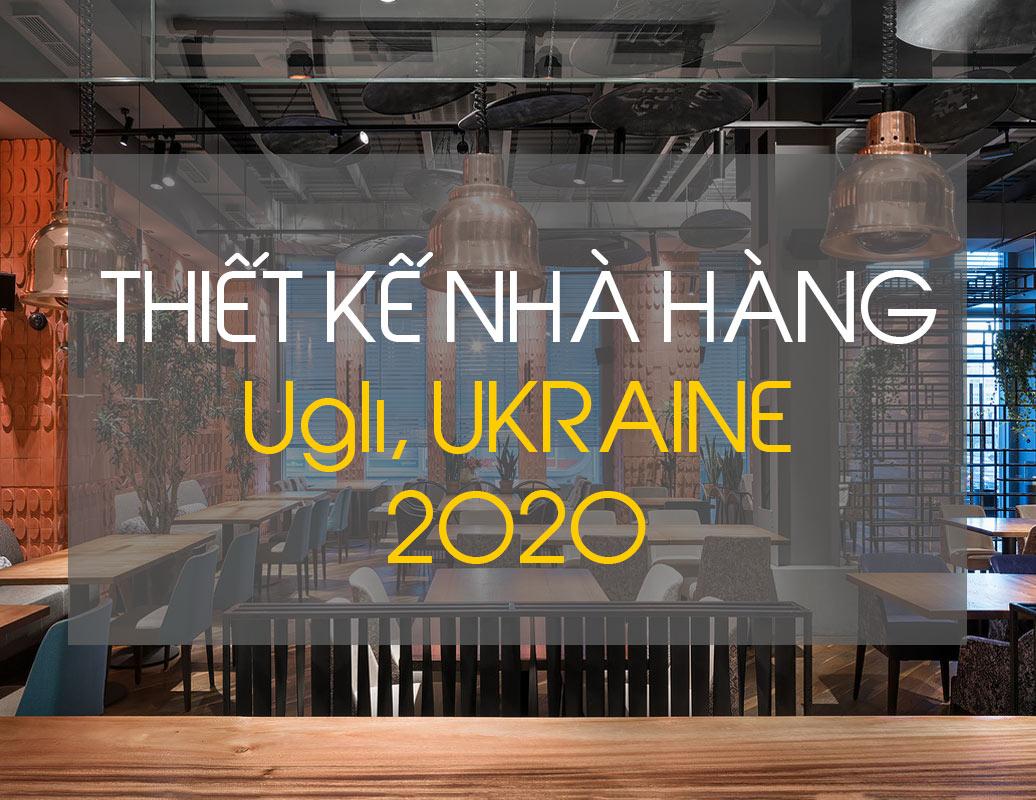 16.Thiết kế nội thất nhà hàng UGLI năm 2020 - ifdgroup.vn